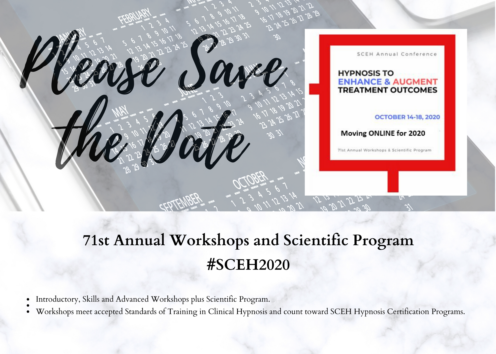save the date for 2020 SCEH conference