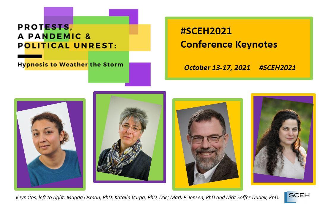 SCEH 2021 Keynotes