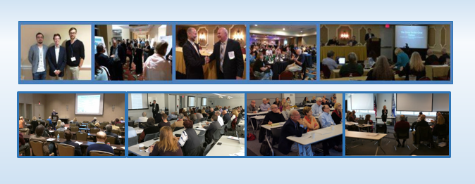 Above: Scenes from SCEH clinical hypnosis training programs.
